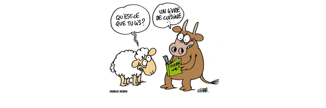 Cuisine Halal, Coran, Charb, CharlieHebdo.fr