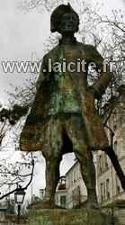 Chevalier de la Barre, statue (75)