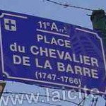 place Chevalier de la Barre (13) Marseille