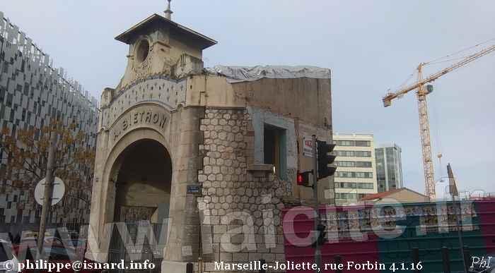 Marseille Joliette, rue Forbin 1.16 (c) PhI