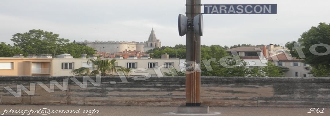 Tarascon (13) gare SNCF mai 2014