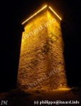 Au pied de la tour du Mont d'or, une nuit de 2011-2012, photo (c) PhI