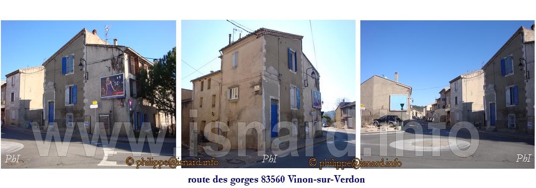 Vinon (83) 10 route des gorges, 3 photos (c) PhI
