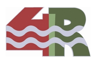 projet 4 Rives, logo lettrage