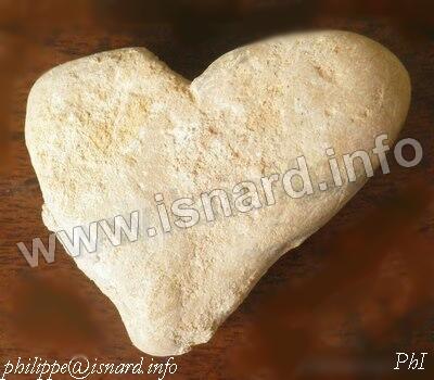 Coeur, pierre, Esparron-de-Verdon 6.14 © PhI