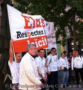 Metz, Elus Respectez la Laïcité, 8.13 © Les Profanes
