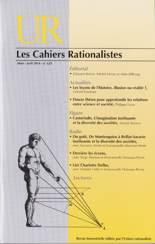 Cahiers Rationalistes, ancienne couverture