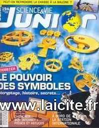 Sciences & Vie junior n°194 Symboles