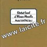 Statut Local d'Alsace-Moselle CLR 68