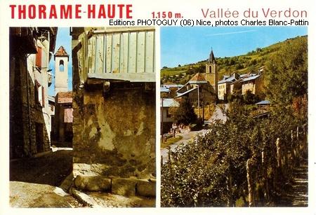 Thorame (04) carte postale Photoguy (c) 06