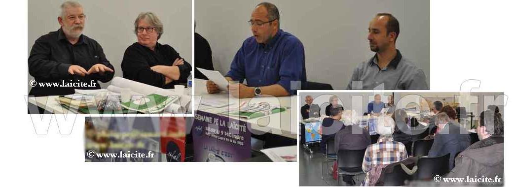 Laïcité & Liberté d'Expression, Montpellier (34), 12.3.15
