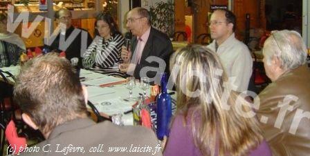 Banquet Laïque Aubagne 9 déc. 2008