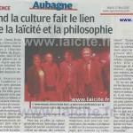 Laïcité Aubagne LDH avec H. Pena-Ruiz 12.5.15 laProvence