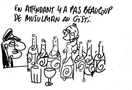 """Tignous GISTI.org Boisson pas """"musulmane"""""""