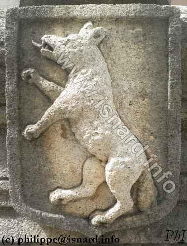 84 Sault, loup dans les armoiries 23.9.14 (c) PhI