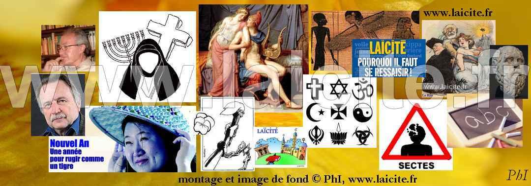 Enseigner le fait religieux à l'école, bandeau (c) PhI