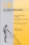 Cahiers Rationalistes n° 597, nov. 08