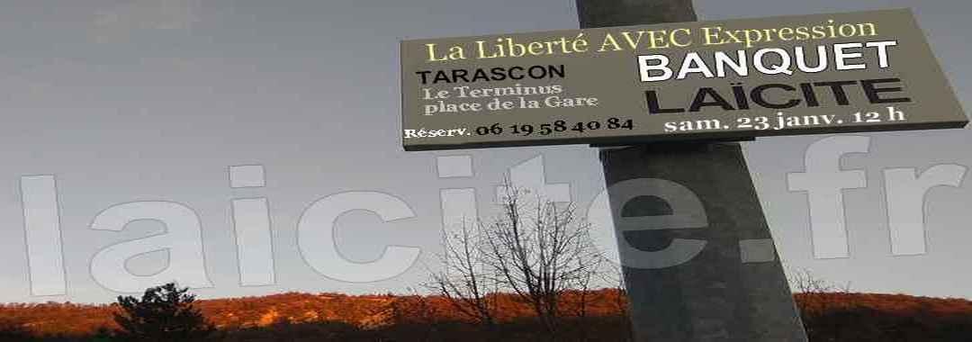 Banquet Laïcité (13) Tarascon 23.1.16, photo © PhI, Digne