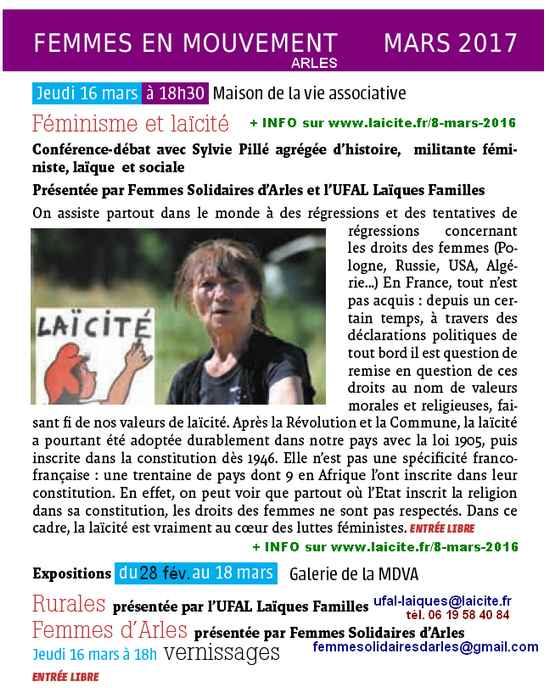 Femmes en Mouvement 3.17 Arles, FS UFAL