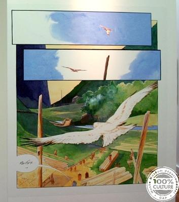 Crespin, planche BD expo Musée Dép. 05