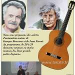 Croque Notes Verdon 04 Brassens-Ferrat