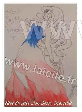 femme tricolore 12.15 CG lyc. DB 13 Marseille
