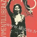 """Italie """"MLF"""" Movimento di Liberazione della Donna"""