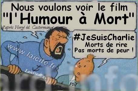 l'Humour à Mort #JeSuisCharlie