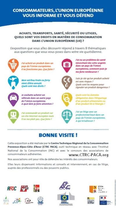 Consommateurs UE, couverture Expo CTRC-PACA.org