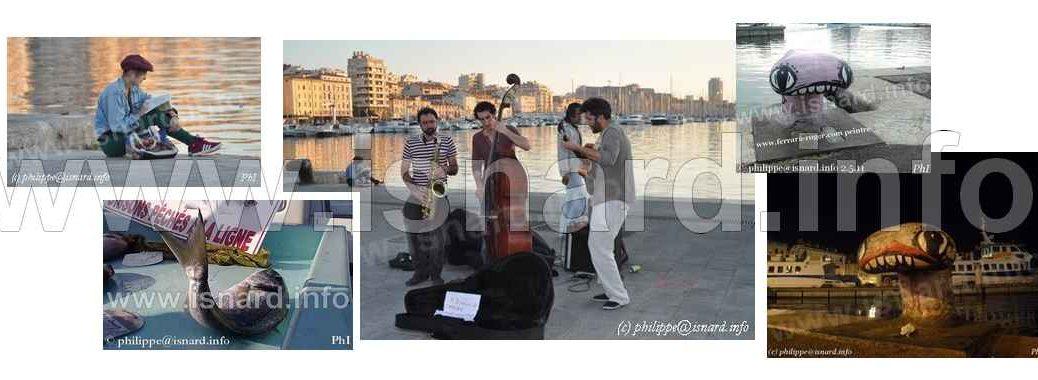 Marseille Vieux-Port bando © PhI