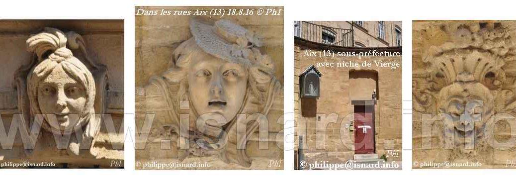 Aix-en-Provence bas-reliefs 8.16 bando © PhI