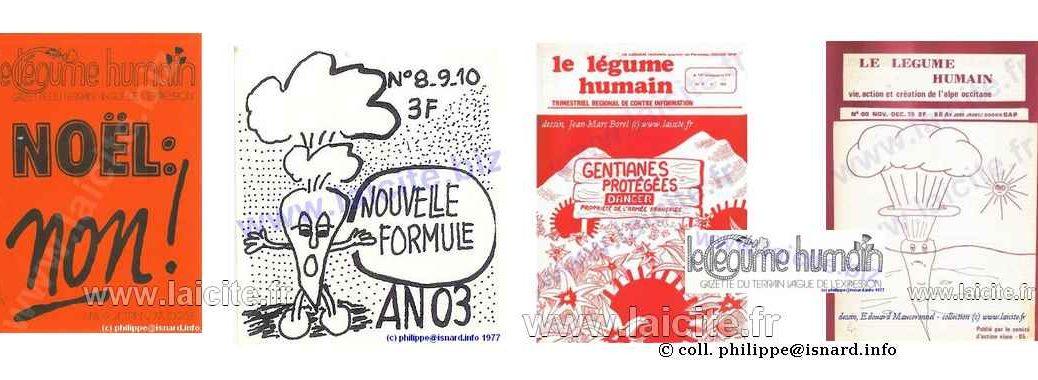 bando revue Le Légume Humain (05), collection (c) PhI