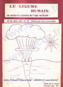 Le Légume Humain n° 00, nov. 1977
