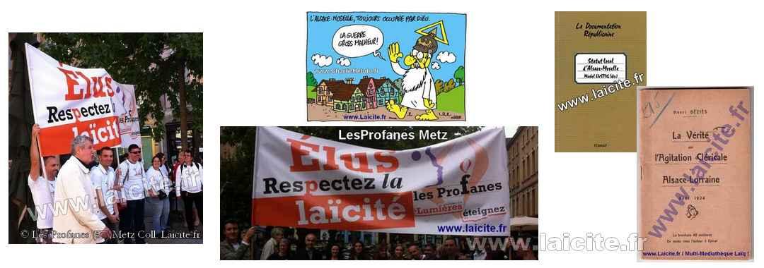 Metz (57) Laïcité LesProfanes bando
