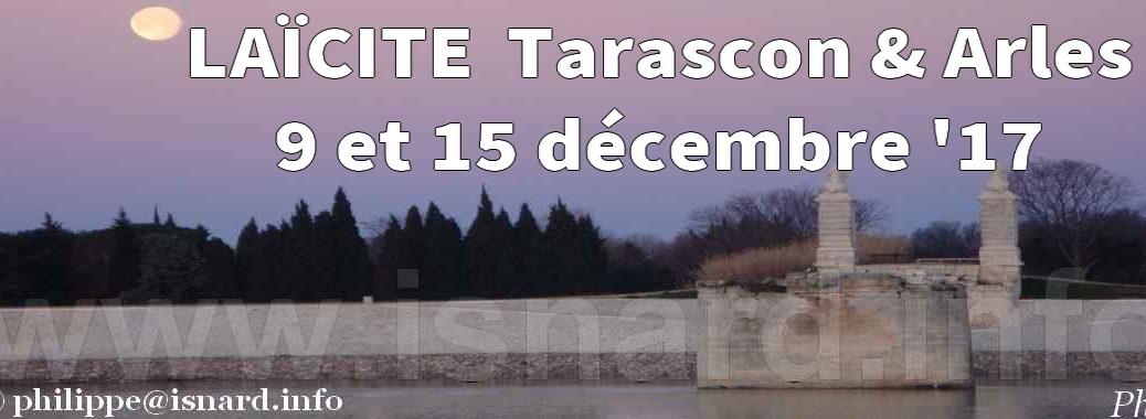 Laïcité Tarascon Laïcité Tarascon Arles (sur Rhône) en déc. 17