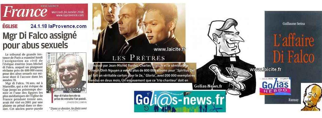 JM Di Falco show, Golias & Cie