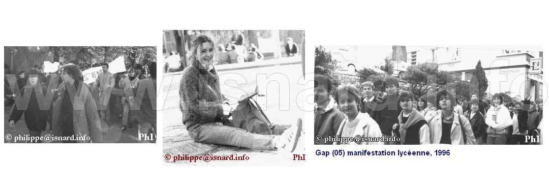 bando Manif Lycéenne 1996 (05) Gap © PhI