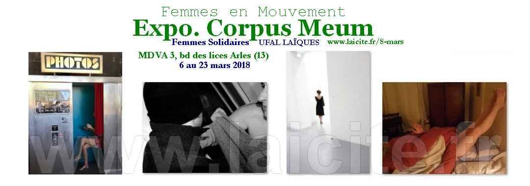 Expo Corpus Meum 3.18 Arles