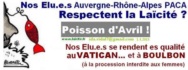 Laïcité 1er avril 2018 élu.e.s Vatican, id@Vidal