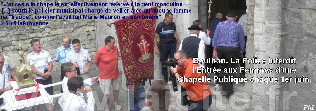 Boulbon (13) Exclusion des Femmes 1.6.17 © PhI