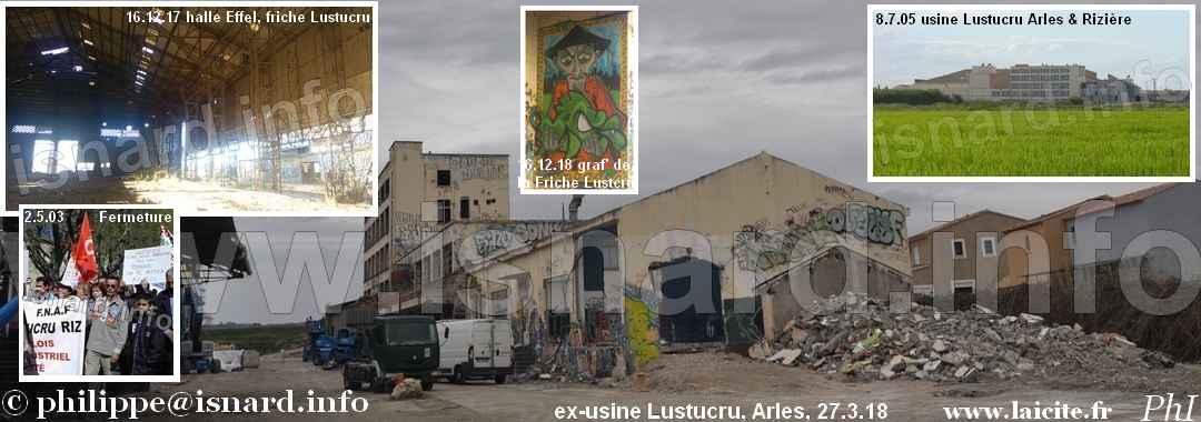 bando Arles ex-friche Lustucru, Archi & Riz 7.18