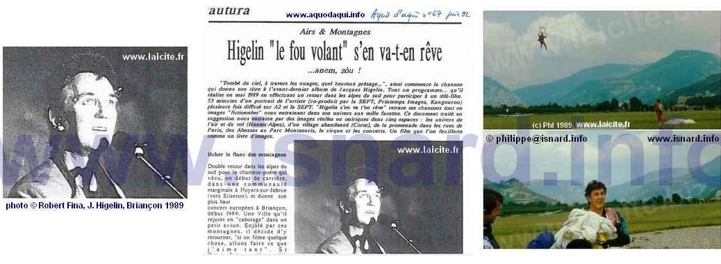 bando Jacques Higelin 1989-1992 © PhI Laicite.fr