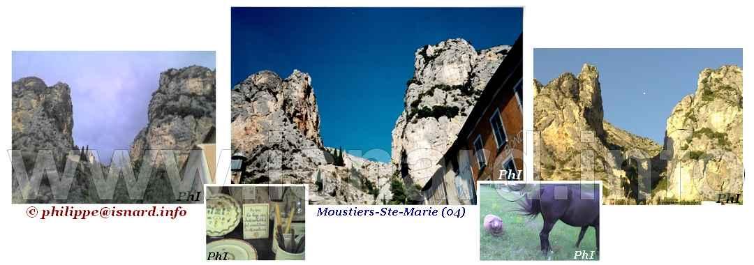 bando Moustiers-Ste-Marie (04) étoile, faïence, animaux © PhI