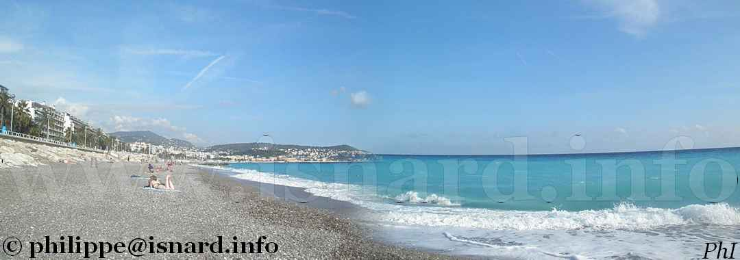 La baie de Nice (06) mer, Côte d'Azur 29.9.14 © PhI