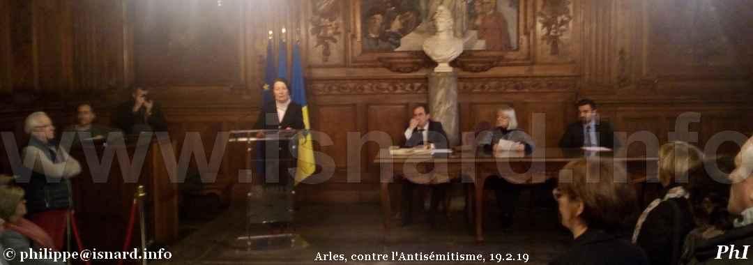 bando Arles contre l'Antisémitisme, 19.2.19