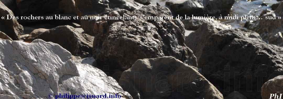 pierres noir et blanc (83) Hyères 2.19 © PhI