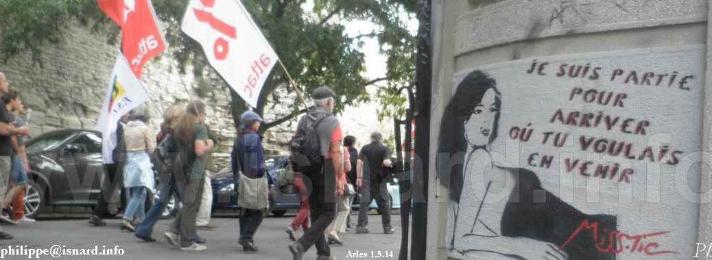 1er mai 2014 Arles Miss.Tic ATTAC © PhI