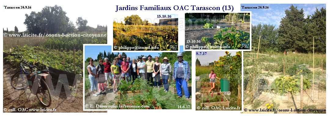 Jardins Familiaux OAC 13 Tarascon 2016-2017 © Laicite.fr