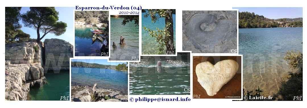 Esparron-de-Verdon 2010-2014 Lac © PhI & CS
