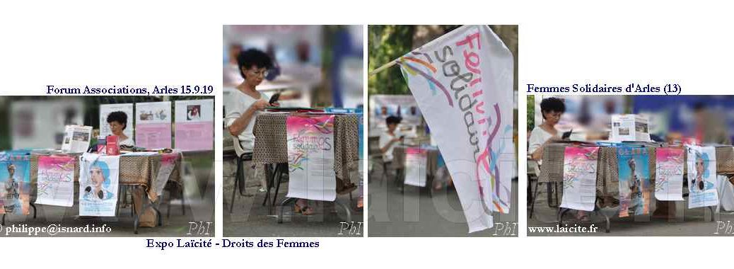 Femmes Solidaires Arles 15.9.19 Forum Associations © PhI